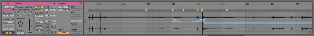 Stretching audio files on Ableton Live for minimal house vocal effects