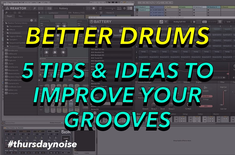 minimal house drums tips and ideas